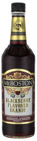 Mr Boston Blackberry Brandy 34@